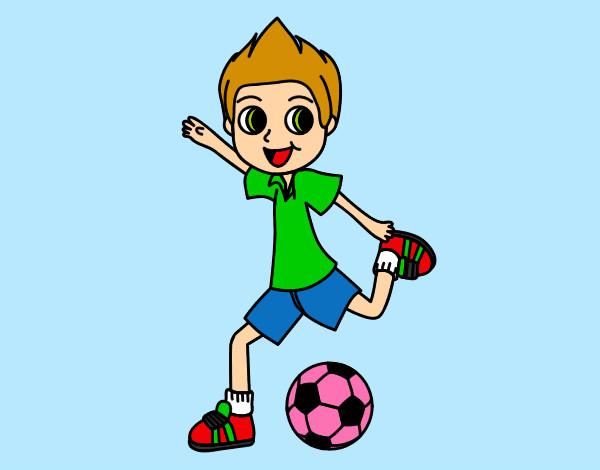 Imagenes infantiles de ni os jugando futbol imagui - Dibujos infantiles de ninos jugando ...